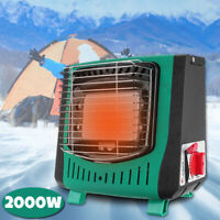 2000W Portable 220g Gas LPG Heater Stoves Barbecue Tent Camping Hiking