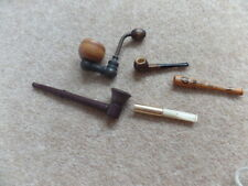 Mixed Job Lot 5x Vintage Collection  Smoking Pipes, Good Used Condition