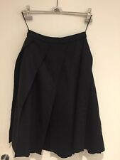 Authentic VIVIENNE WESTWOOD Fw17 Rare (gold Label Style) Black Wool Patch Skirt
