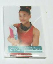 "Magnetic Acrylic Frames 2.5"" x 3.5"", set of 2"
