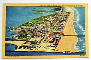 Postcard - AIR VIEW OF OCEAN CITY, MARYLAND, LOOKING NORTH, USA (USA8-19)