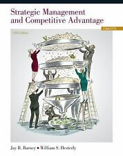 Strategic Management and Competitive Advantage: Concepts and Cases 5th Int'l Edi