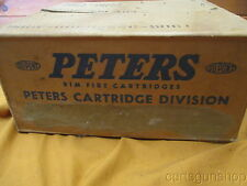 Vintage Peters 22Cal Box - empty