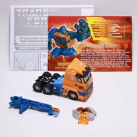 Transformers Timelines BOTCON 2007 Scout Huffer - 100% Complete Tech/Instruction