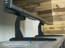 """Universal LCD Flat Screen TV Table Top Stand Base Padded Bottom Feet 22"""" to 65"""""""