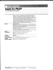 Apple CoPilot Software - Pack of Original Advertising Flyers - Sealed