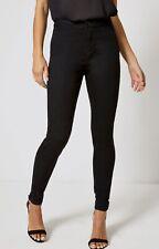 New Ladies DP Black High Waisted Skinny Stretch Lyla Jeans 8 - 20