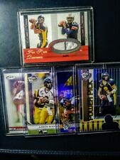 2005 Aaron Rodgers (5) RC Lot Materials. Packers