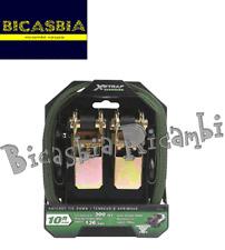 9773 - COPPIA CINGHIE TRASPORTO A CRICCHETTO PICCOLE MAX 136 KG