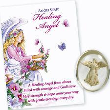 AngelStar Spiritual Physical Healing Angel Pocket Purse Stone Token 8706