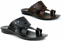 MEN'S NEW CASUAL TOE POST COMFY SLIP ON SUMMER BEACH WALKING SANDALS-KURTA