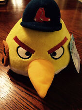 Boston Red Sox Angry Birds Stuffed Animal Ball Yellow. Soft. Brand New