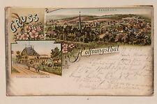 11125 Litho AK Hoffnungsthal bei Köln Rösrath Restauration Gustav Blech 1899