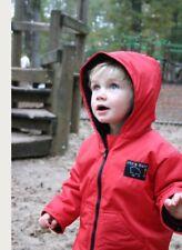 Little Buffalo Jacket Kids 4-5 Yrs Charcoal Winter Coat Ski Bushcraft