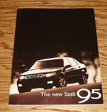 1995 Saab Deluxe Edition Sales Brochure 95