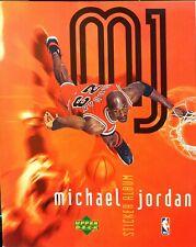 Michael Jordan Upper Deck Sticker Album Chicago Bulls White Sox Basketball Wiz