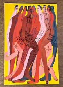 "Jeffrey Cheung Handbill ""Tangle"" Exhibition Show Postcard Poster Mini Print Art"