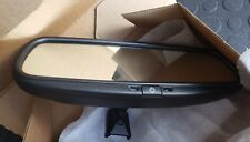 New listing Gentex 50-Genk2 Auto-Dimming Rear View Mirror Oem Dim Black Rearview Replacement