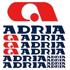 Adria aufkleber sticker wohnmobil camper wohnwagen caravan 10 Stücke Pieces