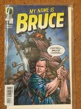 My Name is Bruce - Comic Book - Bruce Campbell - Dark Horse Comics