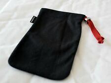 Genuine Nokia Black Cloth Draw String Pouch for Smaller Mobile Phones & Devices