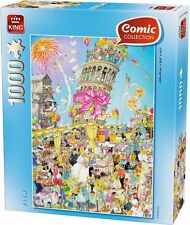 1000 Piece Comic Collection Jigsaw Puzzle - LEANING TOWER OF PISA 05187