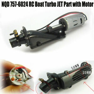 New NQD 757-6024 RC Boat Turbo JET Part with 390 Motor Accessory❤B