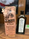 1914 DR. THACHIERS VEGETABLE SYRUP MEDICINE FOR CONSTIPATION -FULL & GOOD SHAPE