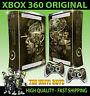 XBOX 360 STEAMPUNK ROBOTS SKULLS VICTORIAN GEARS STICKER SKIN & 2 PAD SKINS
