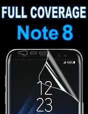 FULL COVERAGE ULTRA HD SCREEN PROTECTOR COVER TPU FILM FOR SAMSUNG GALAXY NOTE 8