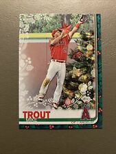 Mike Trout 2019 Topps Holiday SP Christmas Tree Variation #HW31 - Angels