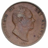 1831 Great Britain Penny (VF) Very Fine Condition, KM# 707