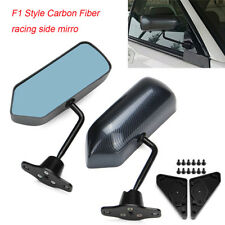 F1 Carbon Fiber Look Dipping Racing Side Mirrors FOR Civic Prelude S2000 NSX RSX