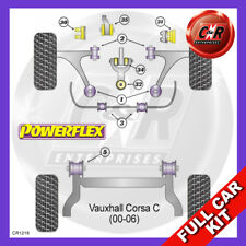 Vauxhall / Opel Corsa C 1.4-1.8 Petrol (00-06) Powerflex Complete Bush Kit