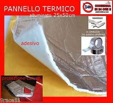 PROTEZIONE ALTE TEMPERATURE CALORE CARENA e turbo 50x25 + 2m  alluminio ADESIVO