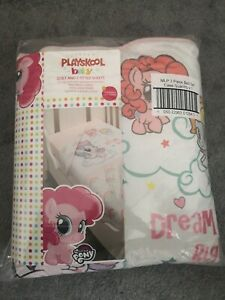 My Little Pony Quilt And 2 Fitted Sheets bed set.