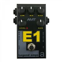 AMT Electronics E1 (Engl) – guitar preamp (distortion/overdrive) effect pedal