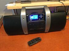 Sirius Xm Satellite Radio BoomBox Boom Box Subx1 with Sp5 Receiver