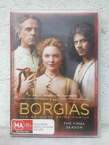 The Borgias : Season 3 : THE LAST FINAL SERIES (DVD. 4 DISC) OVER 8 HOURS !!