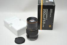 BRONICA Zenzanon-S 250mm 5.6 Lens with Box