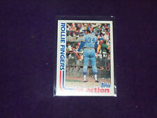 rollie fingers (milwaukee brewers-p) 1984 topps in action CARD #586 nr/mt