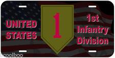 1st Infantry Division Novelty Car License Plate