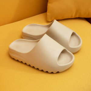 PILLOW SLIDES Sandals Ultra-Soft Slippers Fish Mouth Jagged Cloud Shoe Anti-Slip