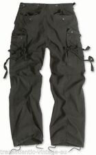 Pantaloni da uomo neri ampio