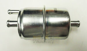 """Universal Carbureted Inline Fuel Filter Anti-Vapor Lock Style 5/16"""" In/Out WIX"""