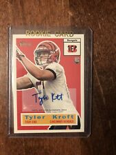 2015 Topps Heritage Football Autographed RC Tyler Kroft
