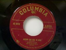 "DORIS DAY ""ANYONE CAN FALL IN LOVE / IF I GIVE MY HEART TO YOU"" 45"
