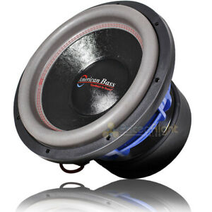 """American Bass 12"""" Competition Subwoofer 4000 Watts Max Power Dual 1 Ohm HD12D1V2"""