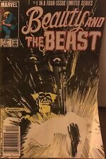 Marvel #1 in four issue Limited Series Beauty & The BEAST  Dec. 84 #1