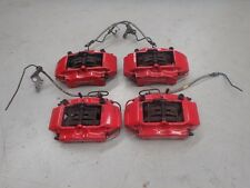 Porsche 911 Carrera 4S C4 996 Turbo Brembo Front Rear Brake Caliper Set Red J077